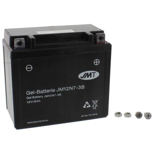 GEL Batterie 12N7-3B Yamaha YP 125 R Majesty SE06 Bj 2001-2009