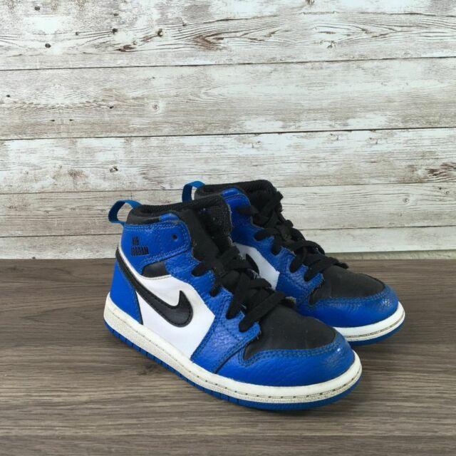 Nike Air Jordan Retro 1 High Sneaker Blue 705304 400 Size 7c Shoes