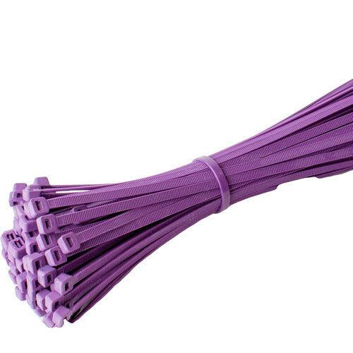 Attaches De Câbles Noir Blanc Toutes Les Couleurs Nylon Zip Tie Wraps Électrique Toutes Tailles