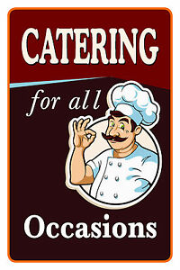 Image Is Loading Catering For All Occasions 12 034 X18