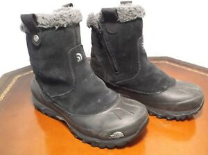 a445fc88b Details about The North Face Leather Insulated 200 Gram Winter Snow Boots  Women's Sz. 7.5 M