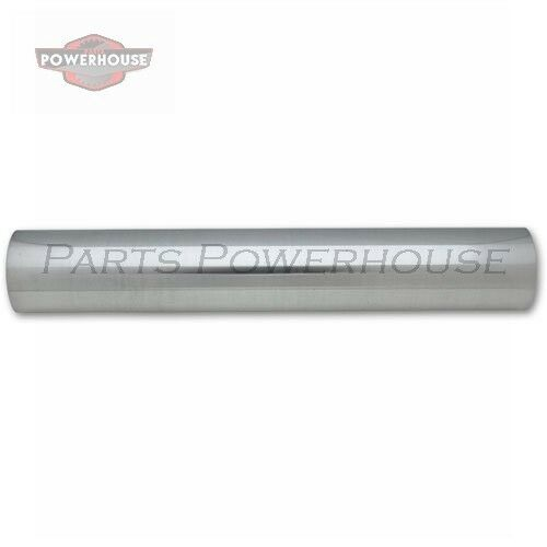 "VIBRANT 2171 1.5/"" O.D Polis Universal Aluminum Tubing 18/"" long Straight Pipe"