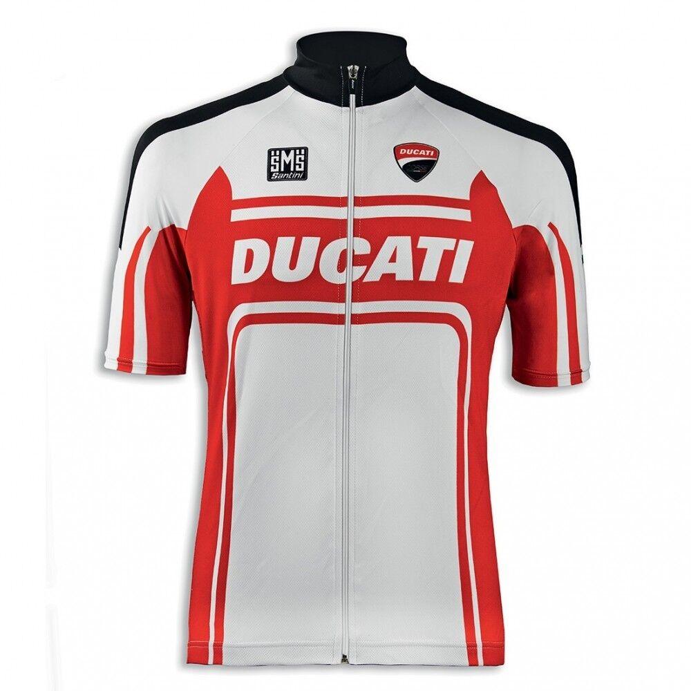 Ducati Santini Corse BK-1 Bicycle Jersey Bicycle Clothing Bike T-Shirt New