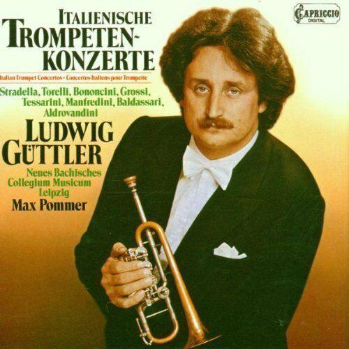 Ludwig Güttler Italienische Trompetenkonzerte: Stradella, Torelli, Bononc.. [CD]