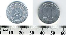 German-democratic Republic 1982 A - 10 Pfennig Aluminum Coin - Berlin mint