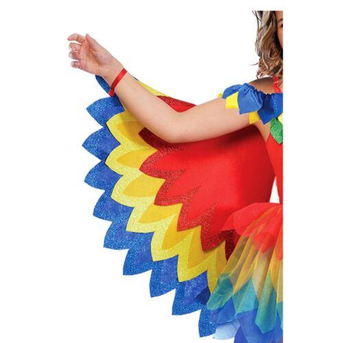 Enfants Fille Arc-En-Ciel Joli Perroquet Fée Oiseau Animal Sauvage