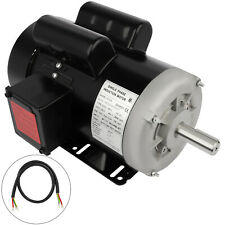 3hp Air Compressor Electric Motor 145t Frame 3450rpm Single Phase 78shaft Tefc