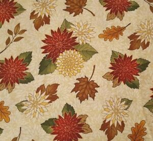 Farmer/'s Market BTY Angela Anderson Quilting Treasures Vegetable Toss Rust Brown
