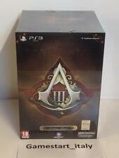 ASSASSIN'S CREED III 3 FREEDOM COLLECTOR'S EDITION - PS3 - NUOVO SIGILLATO NEW