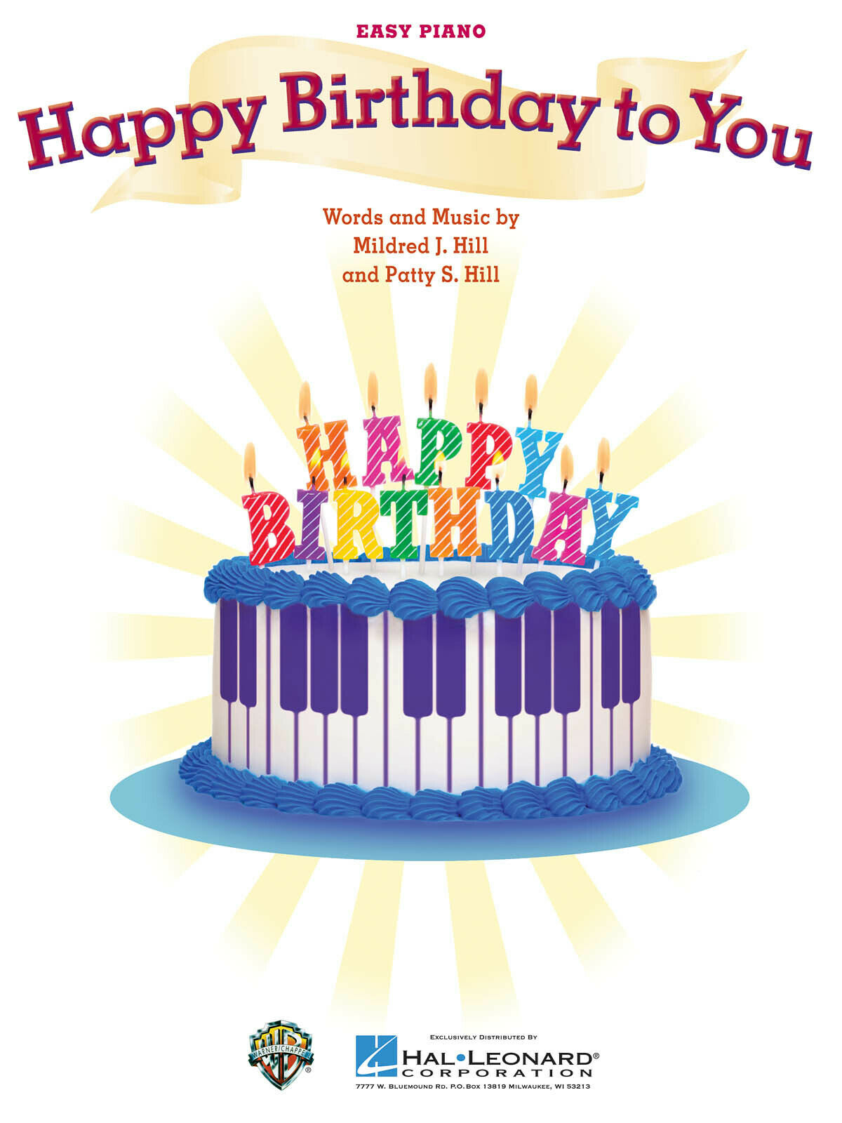 Admirable Happy Birthday To You Song For Easy Piano Sheet Music Lyrics Hal Funny Birthday Cards Online Fluifree Goldxyz