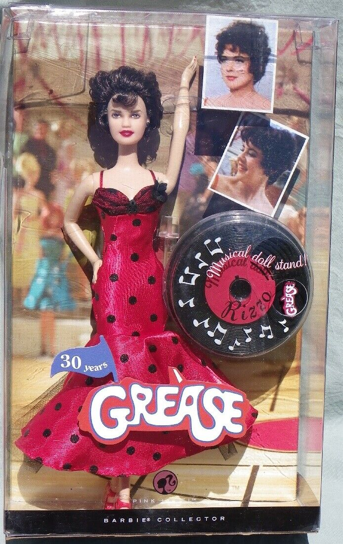 Barbie RIZZO GREASE 2008 Mattel M3255  poupée neuve DOLL NRFB stand musical new