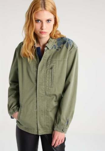 Army bordado verde con para Soda Scotch mujeres Jacket wvnUq