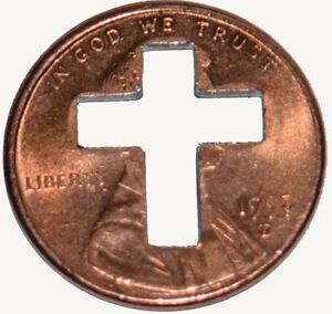 500-Cross-Penny-039-s-Pennies-for-Christian-Ministries-Punch-out-039-s-1958-to-2020