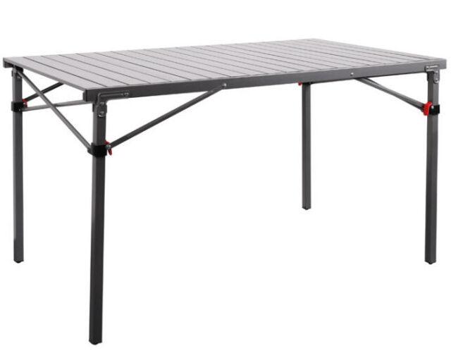 Campingtisch Rauma Aluminium Rolltisch 120 X 70 Cm