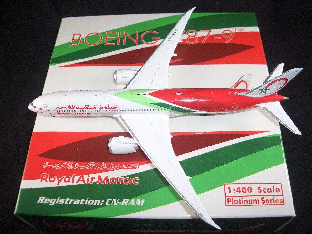 AIRSTORE Phoenix Phoenix Phoenix 1 400 Diecast Royal Air Maroc B787-9  New Livery CN-RAM  RARE ea9017