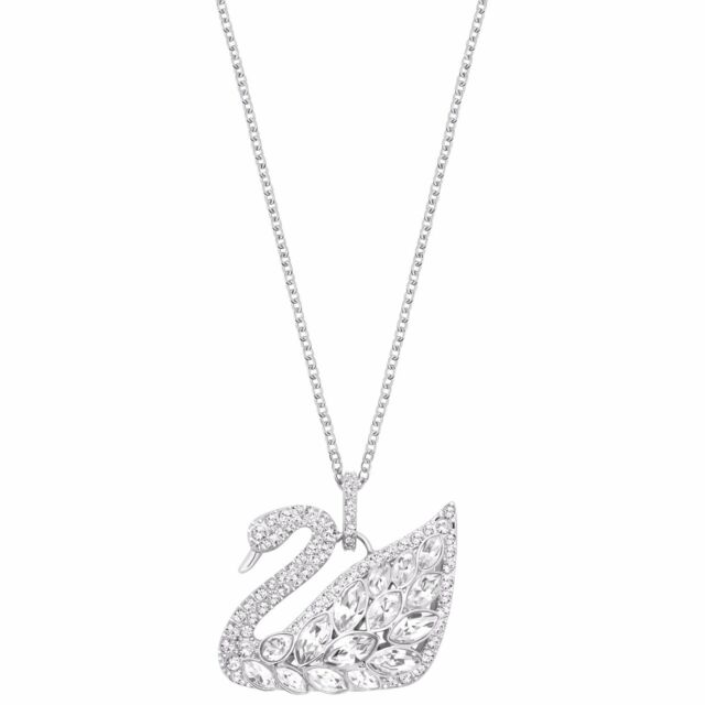 b8341efab5e7 Swarovski Crystal Swan Lake Pendant 5169080 for sale online