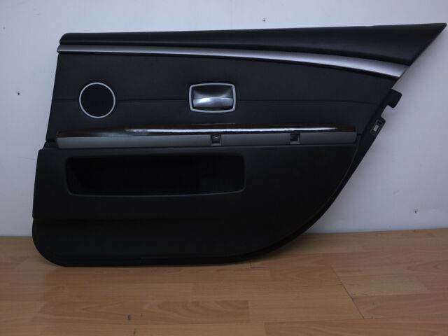 2006 Bmw 750li Oem Right Rear Passenger Side Door Panel