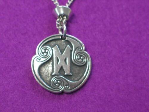 """Celtic 24/"""" chain Dagaz Viking  Rune Pewter Pendant for New Beginings"""