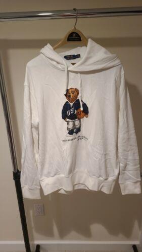 Vintage  Polo Ralph Lauren USA Basketball Bear Hoo