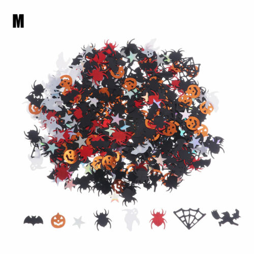 Supplies Halloween Party Acrylic Confetti Table Decoration Spider Bat Cat