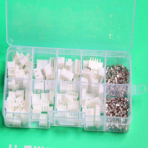 40SET JST XH 2.54 2 3 4P 5P Connector Pin Header Terminal for PCB US Housing