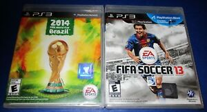 FIFA 13 + 2014 FIFA World Cup Brazil Playstation 3 -PS3-  New-Sealed ... b98b2c19e