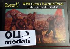 1/72 German Mountain Troops: Gebirgsjager & Handschar FIGURES SET - Caesar 67