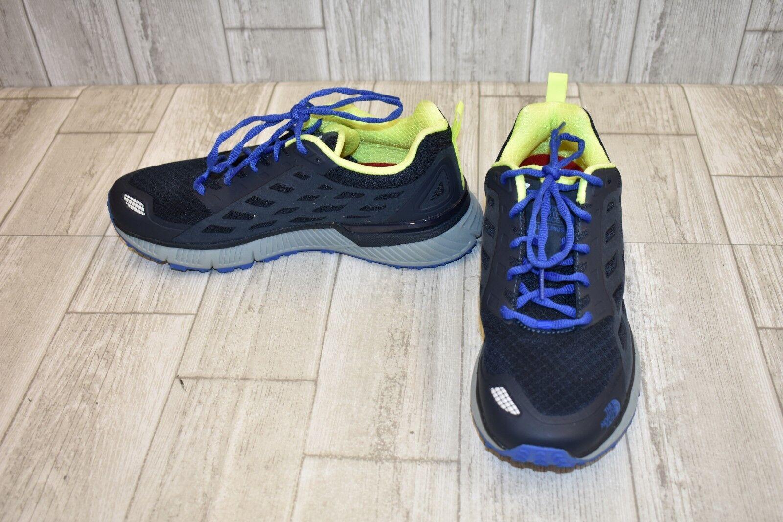 The North Face endurus TR Trail Running Zapatos, Para Hombres Azul Marino Amarillo