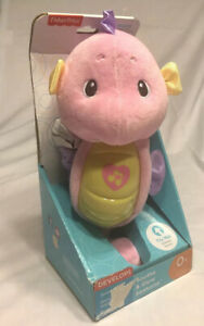 Fisher-Price Soothe /& Glow Seahorse Pink
