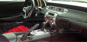 Chevrolet Chevy Camaro Ls Lt Rs Ss Interior Aluminum Dash Trim Kit Set 2010 2011 Ebay