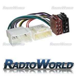 DACIA LOGAN CD RADIO STEREO HEADUNIT ISO WIRING HARNESS LEAD ADAPTOR CT20DC01