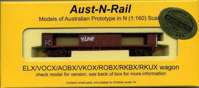 VKOX (ELX no doors) VLINE number 65 with Micro-Trains bogies
