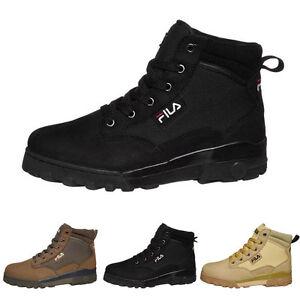 Das Bild wird geladen FILA-Grunge-Mid-Herren-Damen-Sneaker-Stiefel-Boots- 1f4d924403