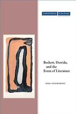 Cultural Memory in the Present: Beckett, Derrida, and the Event of Literature...