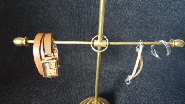 Lisbeth Dahl Schmuckständer Messing Aufsteller 25 cm Schmuckhalter Schmuckbaum