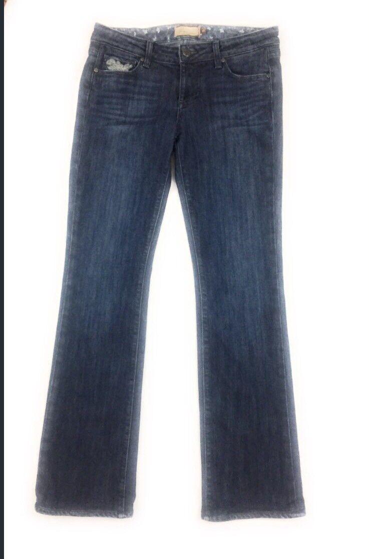 Paige Womens Jeans Size 31 Premium Denim Stretch Benedict Canyon -Tag shows 27
