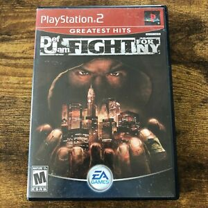 Def Jam: Fight for NY Greatest Hits (PlayStation 2, EA Games . SLUS 21004, 2004)