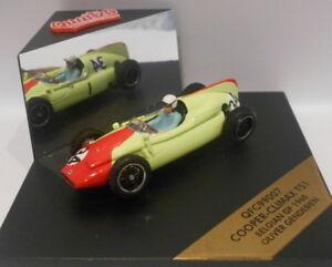 Quartzo-escala-1-43-QFC99007-Cooper-Climax-T51-blegian-GP-1960-Gendebien