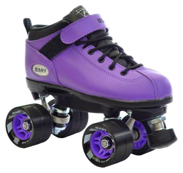 Used Roller Skate Kids Youth Men Women Size Black White Purple Pink Skate Gear