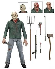 """NECA Friday The 13th Scale Ultimate Part 3 Jason Action Figure 7"""""""