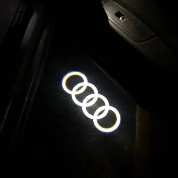 Audi Ledlys Dør Logo Lys Audi Led Dørprojektor...