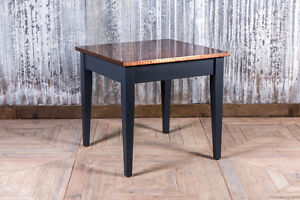 Image Is Loading COPPER TOP RESTAURANT TABLE 80X80CM COPPER BAR TABLE