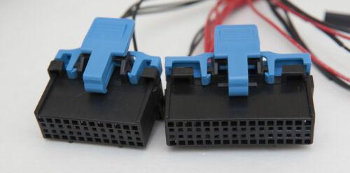 Bench Test Power Cable w connectors 84-89 Corvette Digital Gauge Instrument A023