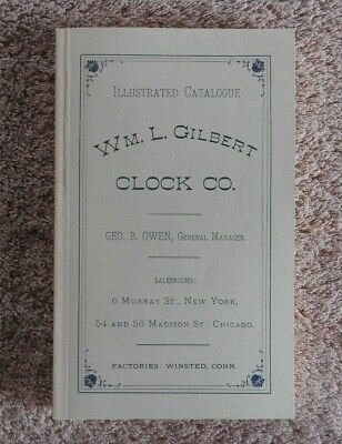 "1881 "" Wm. Gilbert Uhr Company Katalog "" Winsted Karat Stecker Mint Form 192"