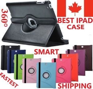 iPad-Case-Stand-Leather-Cover-Rotating-All-Models