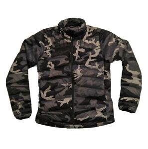 Canada-Goose-Brookvale-Black-Camo-White-Duck-Down-Puffer-Jacket-Men-039-s-size-M