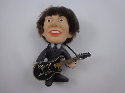 {  george harrison THE BEATLES OFFICIAL REMCO DOLL--1964 soft  vinyl with guitar