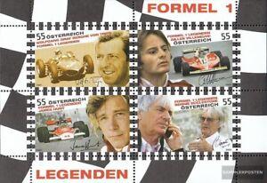 Osterreich-Block51-kompl-Ausg-postfrisch-2009-Formel-1-Rennfahrer