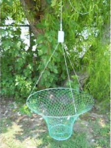 "32""  Crab Trap Hoop WITH FLOAT & RIGGING Type Lobster Pier Dock Net crabbing"