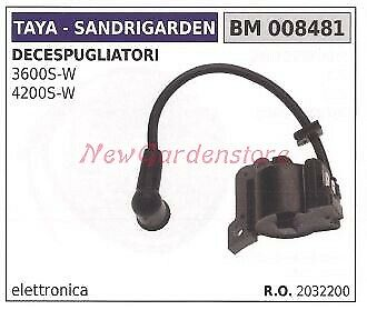 Bobina accensione motore SANDRIGARDEN decespugliatore 3600S W 4200 S W 008481